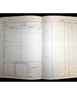 Craft Attendance Register  -Provincial