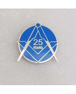 G322  Lapel Pin - Craft 25 Year