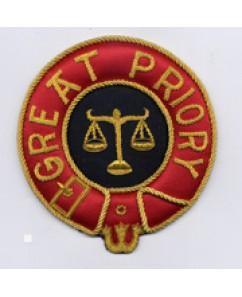 K150 Knights Malta Great Priory Mantle Badge