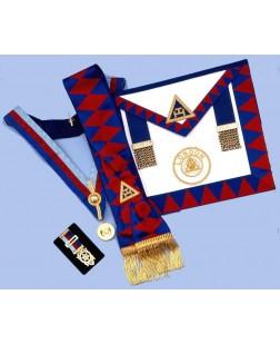 Pack Ra2 -  Ra  Provincial Set - Apron, Sash, Collar, Jewel & Large Breast Jewel
