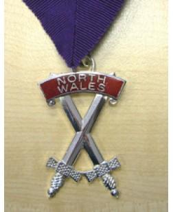 X008 Rcc Sepulchre Guard Divisional Collarette & Jewel