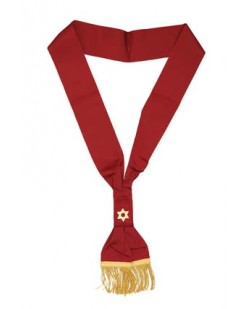 Z011 Osm First Degree Officers Sash Plain
